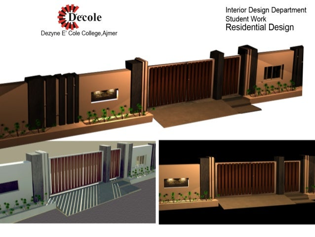 boundary wall boundary fences walls amp gates fence designs by modular ...