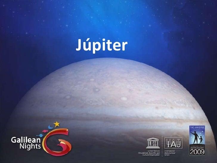 Júpiter - Noches Galileanas