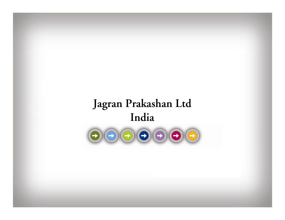 Jagran Prakashan Ltd         India