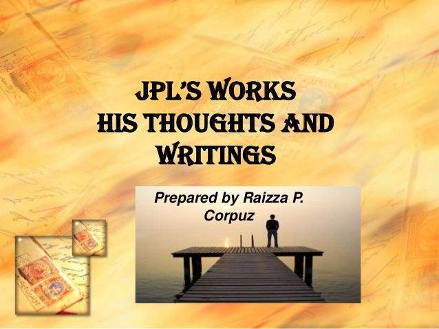 Jpl's works