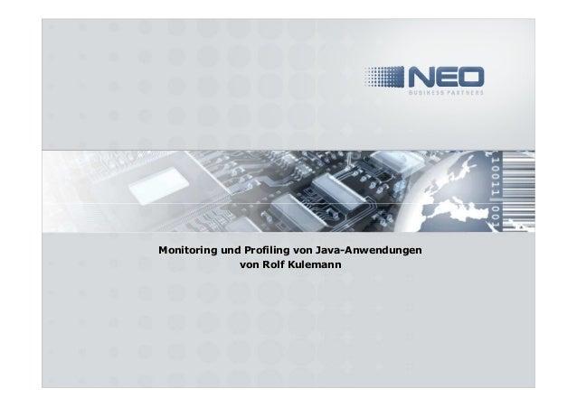 Monitoring und Profiling von Java-Anwendungenvon Rolf Kulemann