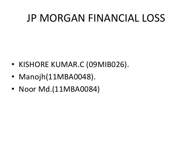 Jp morgan derivative fail case
