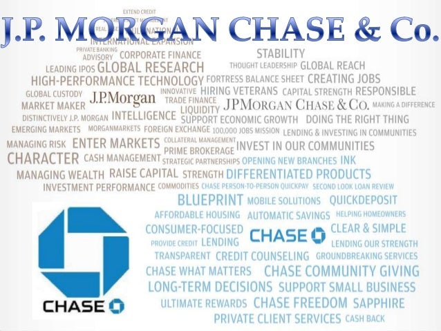 j p morgan chase co project failure Strategic management analysis 5 welcome opportunities the jp morgan co ife from christen p busi 400-d at metropolitan community college, business & technology.