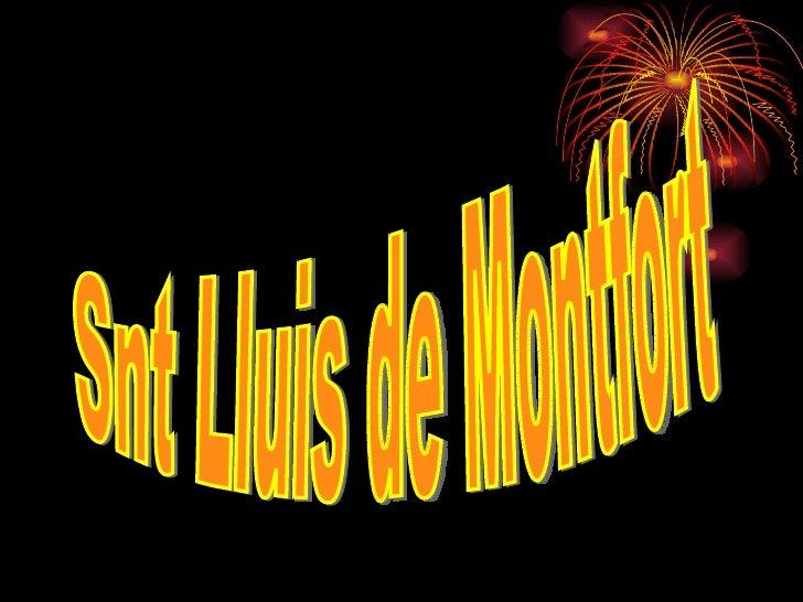 Snt Lluis de Montfort