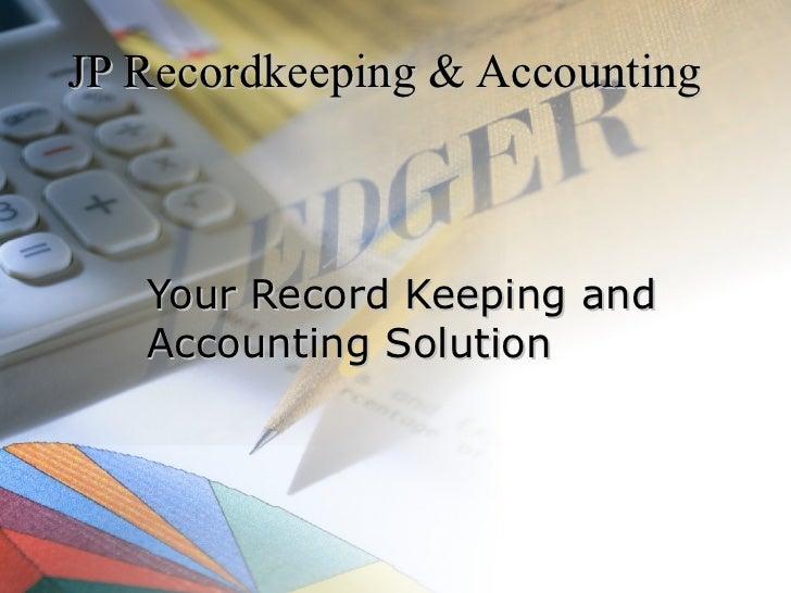 Jp Recordkeeping & Accounting