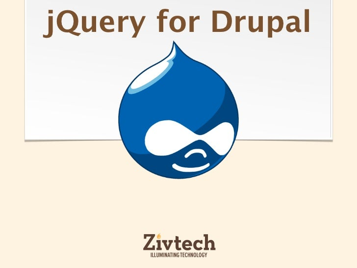 Intro to jQuery for Drupal