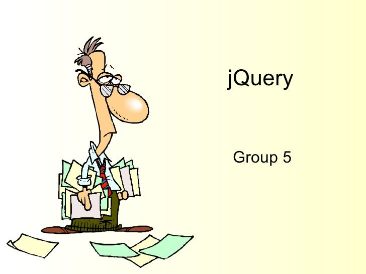 jQuery Group 5
