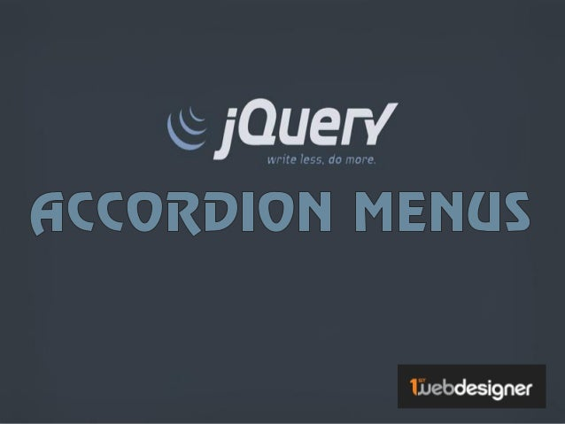 Accordion menus are used widely in navigating, sliding, minimizing and maximizing content.