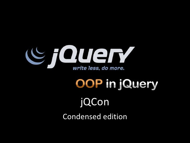 jQuery Conf 2012