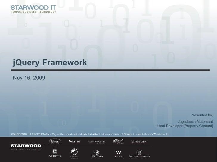 jQuery Framework - Property Content