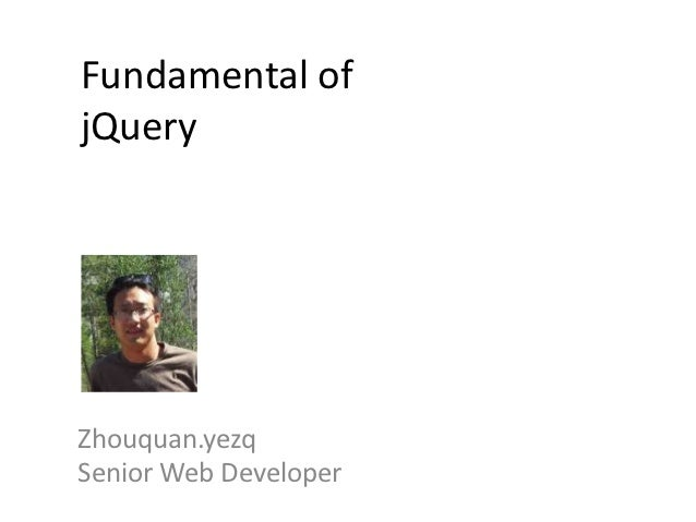 Jquery introduce