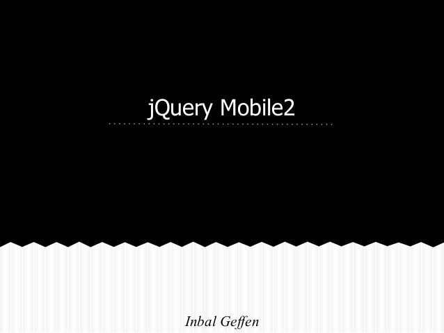 Jquery mobile2