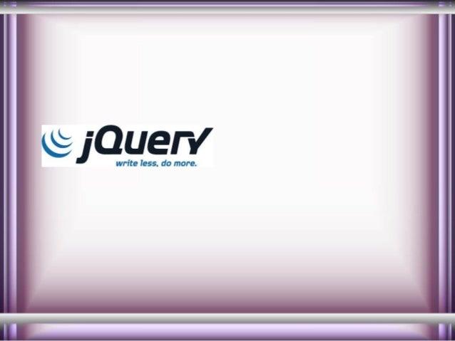 J query module1