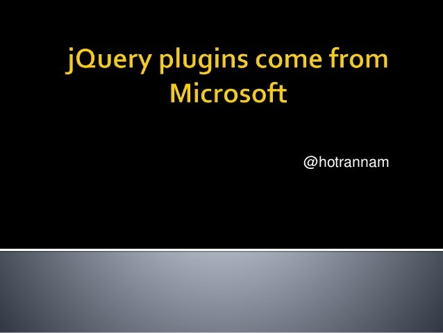 jQuery plugins - templates, data link, globalization
