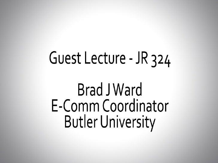 JR324 Presentation