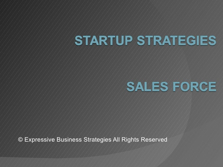 © Expressive Business Strategies All Rights Reserved
