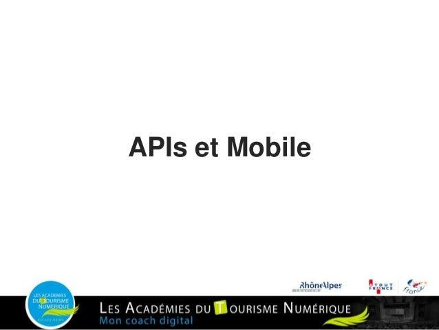 APIs et Mobile