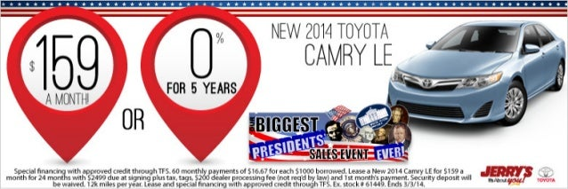 2014 Toyota Camry at Jerry's Toyota in Baltimore, Maryland