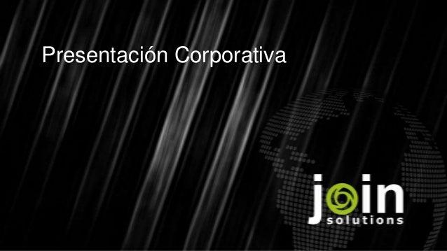 Presentación Corporativa
