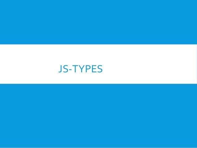 Js types