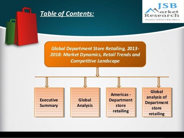 Market Market Department Store Department Store Retailing