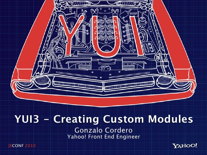 Creating custom modules using YUI3