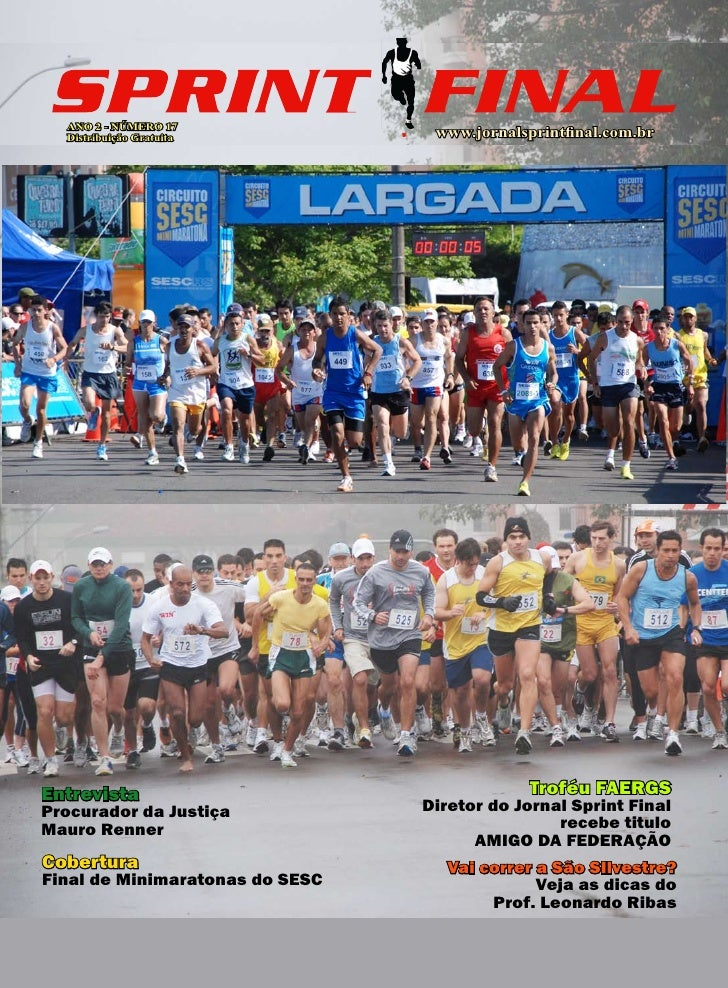 Jornal Sprint Final N°17