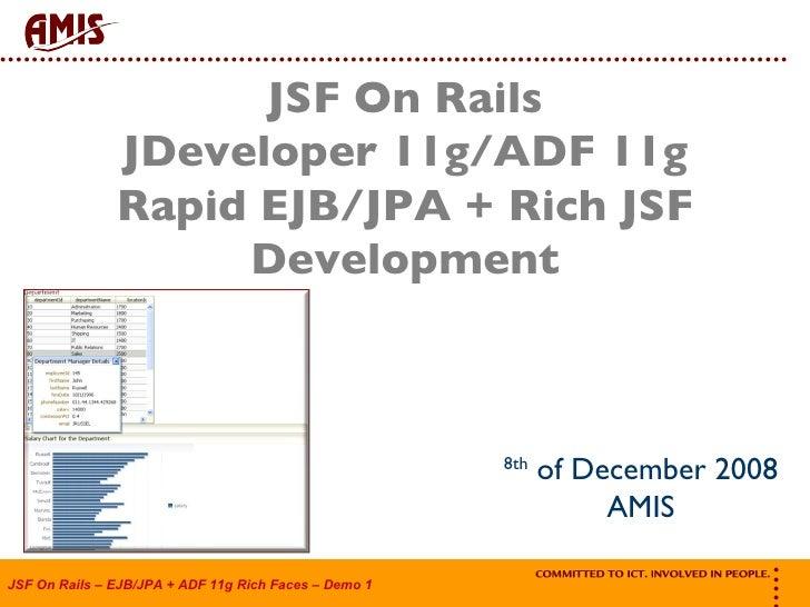 Jsf On Rails Ejb Jpa Jsf Adf11g Demo1