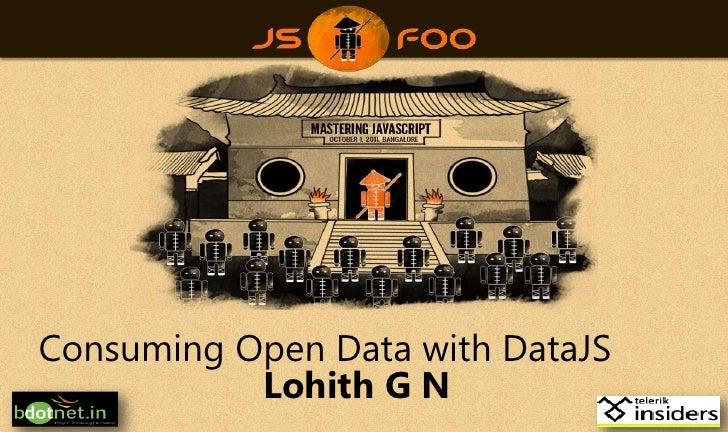 Consuming Open Data using DataJS - jsFoo