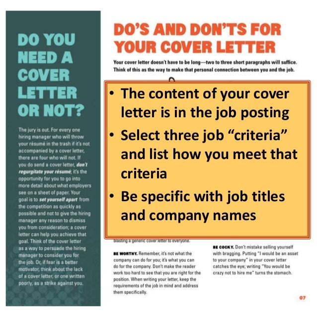 Get Noticed: Write A Cover Letter That Makes You Stand Out