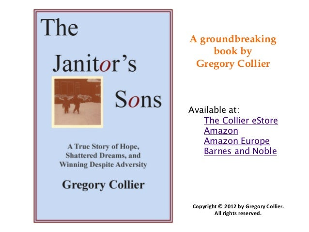 A groundbreaking     book by Gregory CollierAvailable at:   The Collier eStore   Amazon   Amazon Europe   Barnes and Noble...