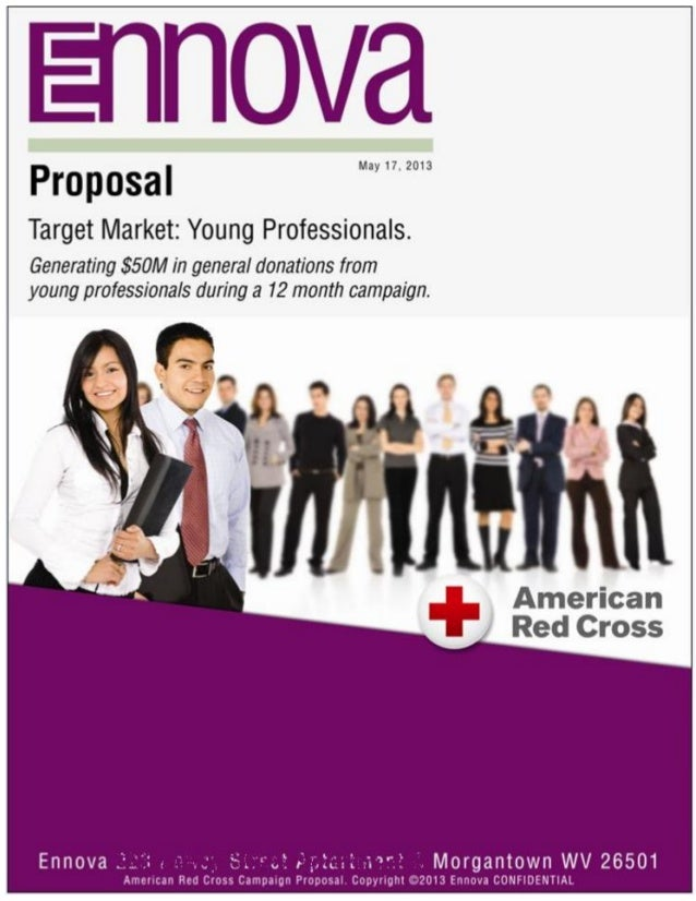 1 American Red Cross Campaign Proposal. Copyright ©2013 Ennova CONFIDENTIAL