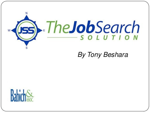 Introducing The Job Search Solution