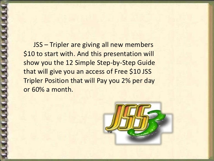 Jss tripler manual