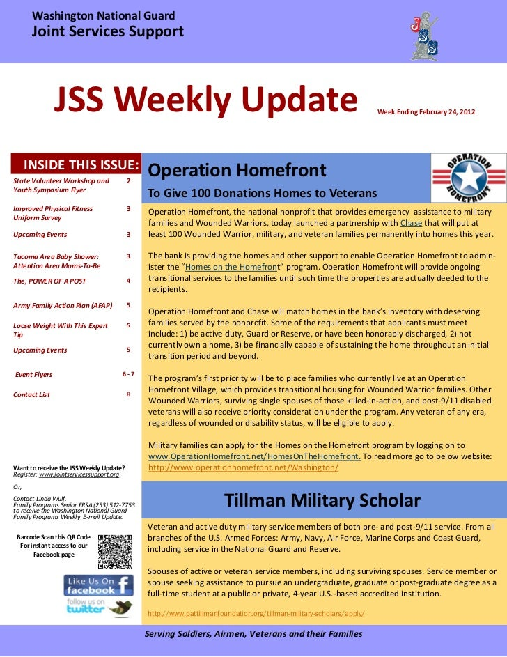 Jss weekly update final 02 24-12