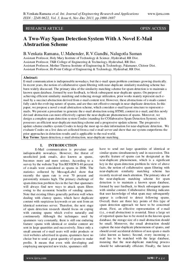 B.Venkata Ramana et al. Int. Journal of Engineering Research and Applications ISSN : 2248-9622, Vol. 3, Issue 6, Nov-Dec 2...