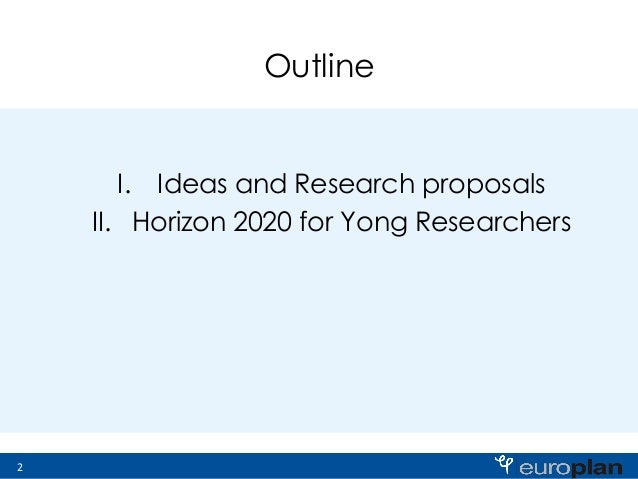 Research proposals ideas