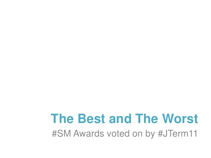 The Best and Worst #SM Awards