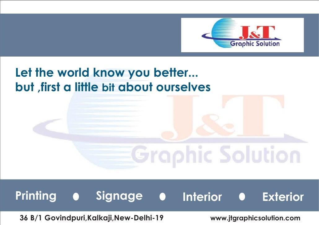 Jt Graphic Solution Profile