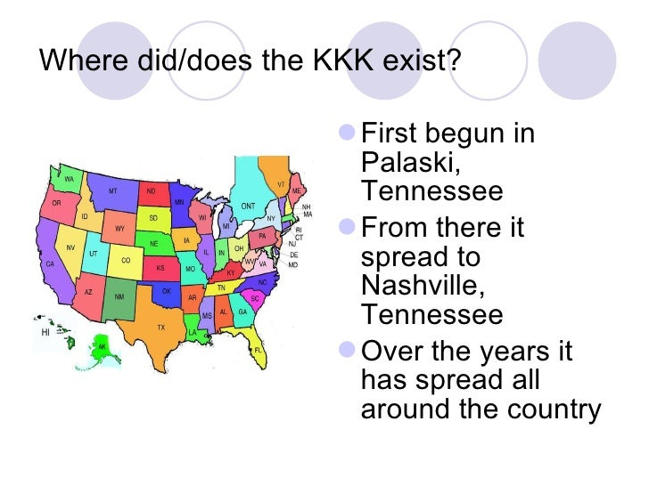 How did the ku klux klan develop?