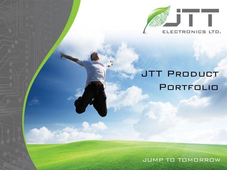 Jtt Product Portfolio