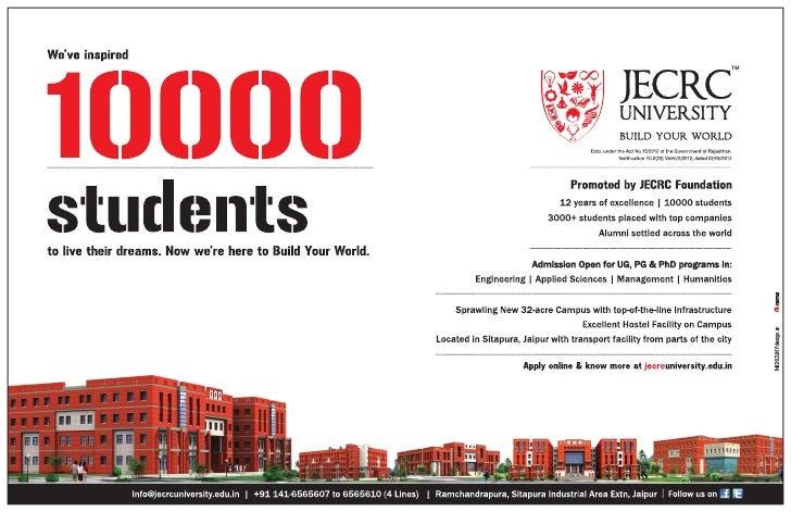 JECRC University Admissions