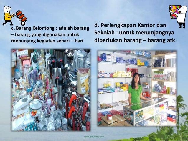 Jual Beli Di Lingkungan Rumah Dan Sekolah