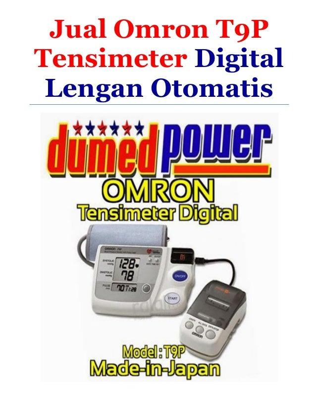 Jual Tensimeter Digital Lengan Otomatis Omron T9P Murah