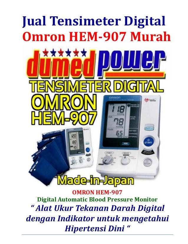 Jual Tensimeter Digital Omron HEM-907 Murah