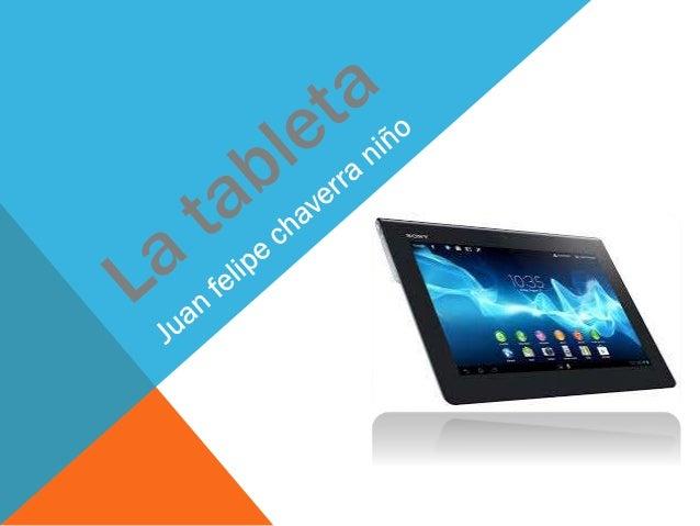 Los primeros ejemplos del concepto tableta de información se originaron en el siglo XX, principalmente como prototipos e i...