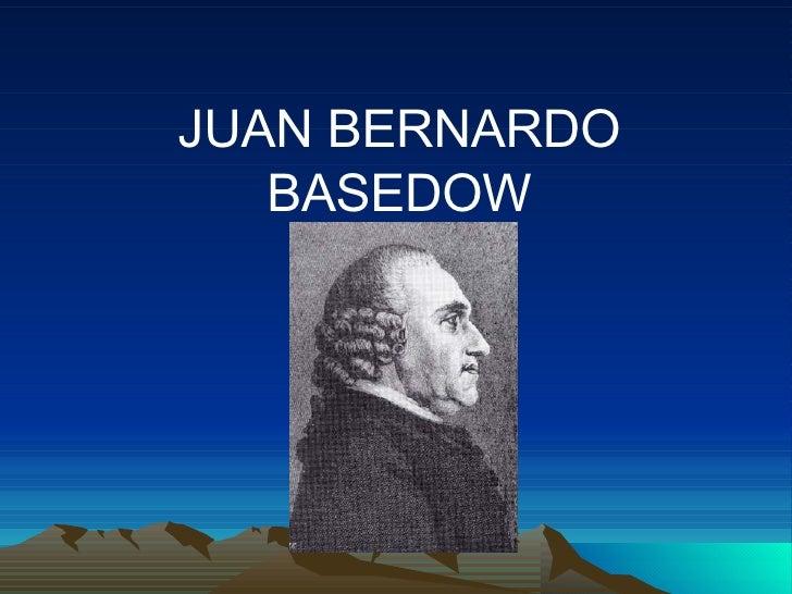 Juan Bernardo Basedow
