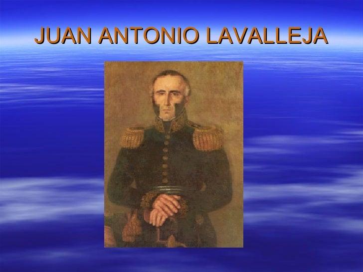 JUAN ANTONIO LAVALLEJA