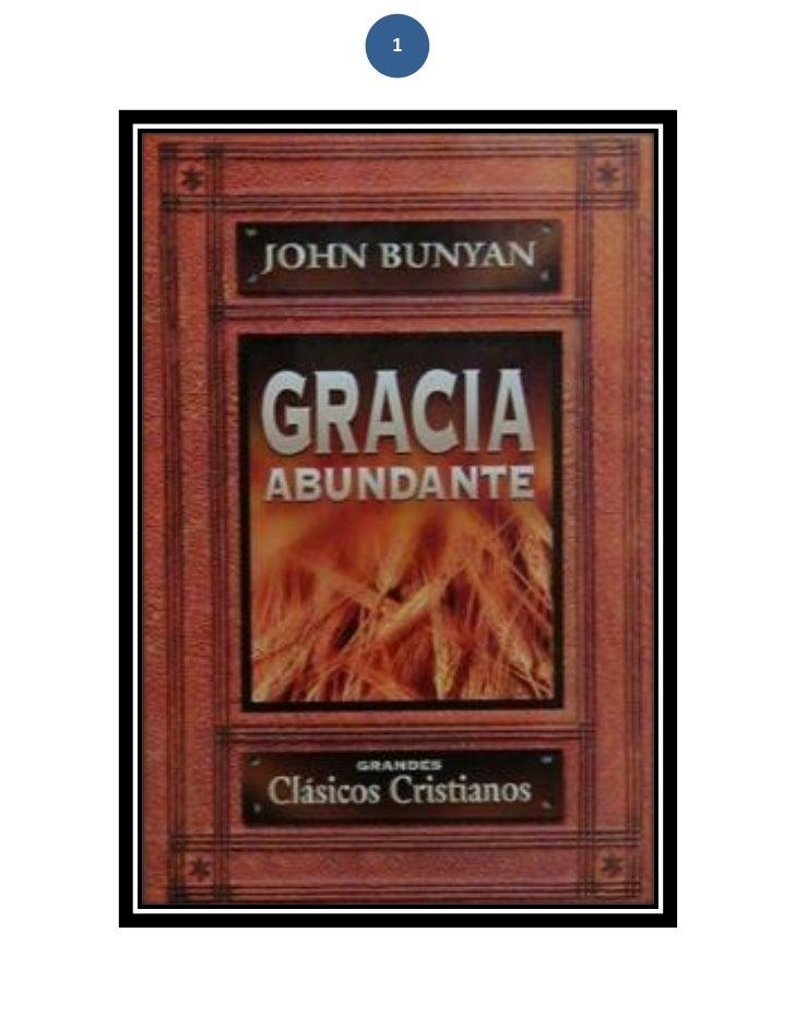 Juan bunyan la gracia  abundante