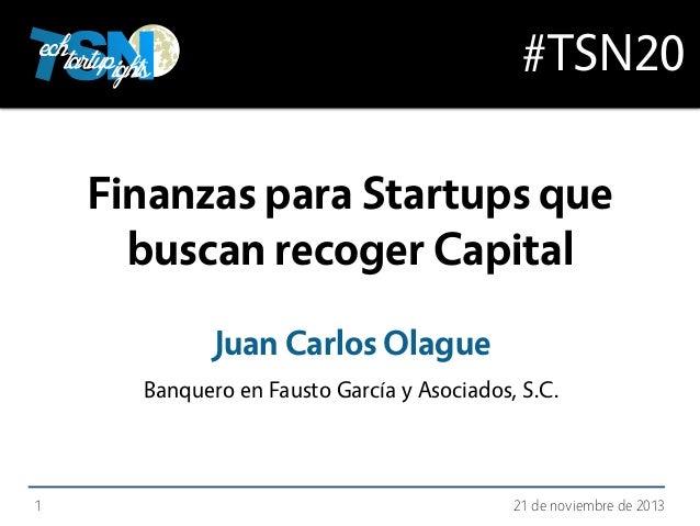 Juan Carlos Olague en TSN20